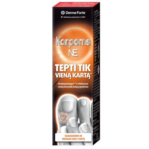 Derma Forte Karpoms NE priemonė karpoms šalinti, 2 ml