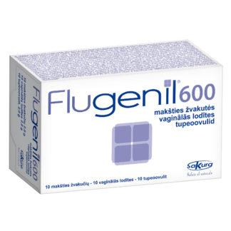 Flugenil 600, makšties ovulės, 10vnt.