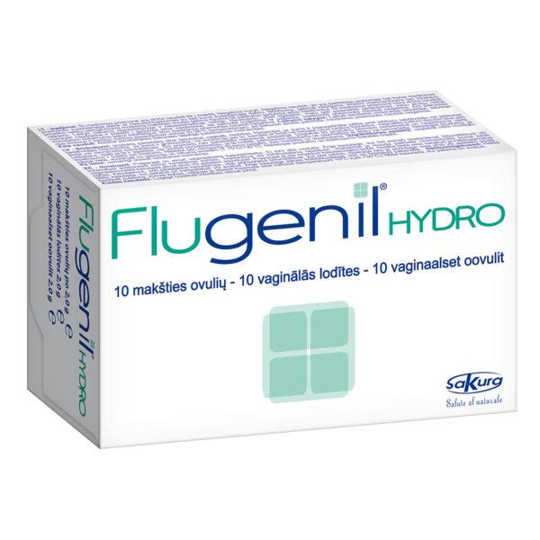 Flugenil Hydro makšties ovulės, 10vnt.