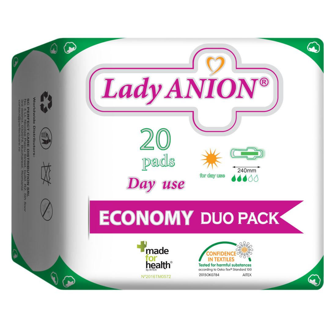 Dieniniai paketai Lady ANION Day use