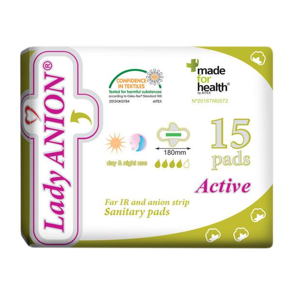 Ploni paketai Lady ANION Active