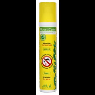 MOUSTICARE FAMILY odos purškalas nuo uodų, erkių, kitų geliančių vabzdžių, 125 ml